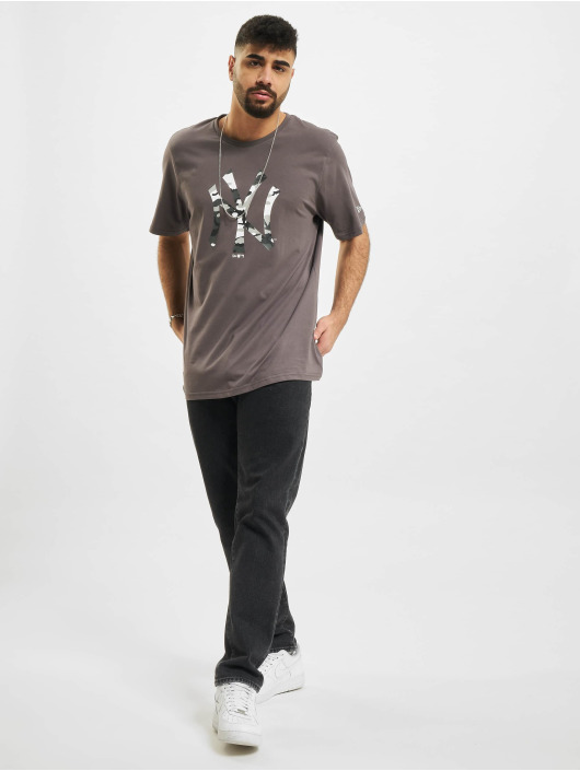 New Era T-shirt MLB New York Yankees grå