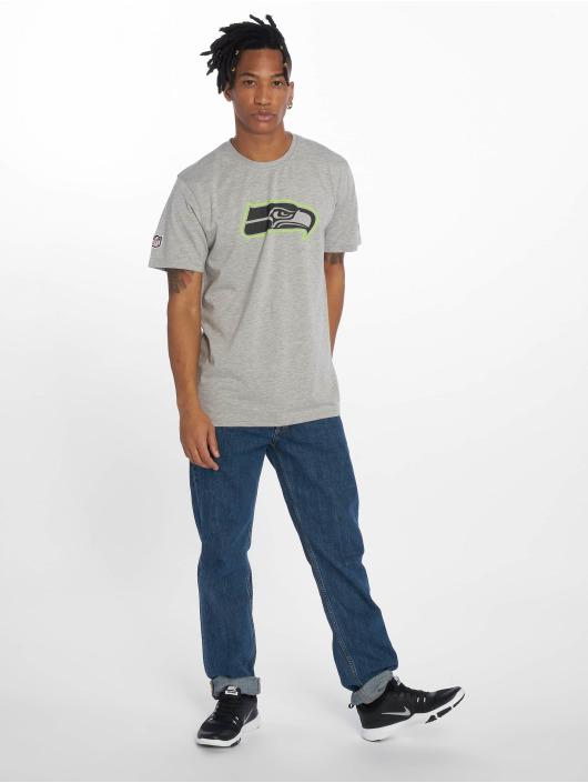 New Era T-Shirt NFL Seattle Seahawks Fan grau