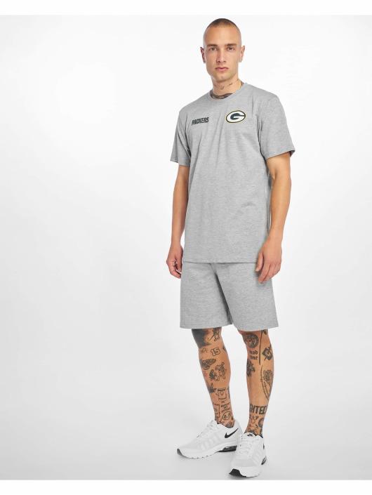 New Era T-Shirt NFL Green Bay Packers Established Number grau