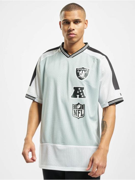 New Era T-Shirt NFL Oakland Raiders Stacked Logo OS grau