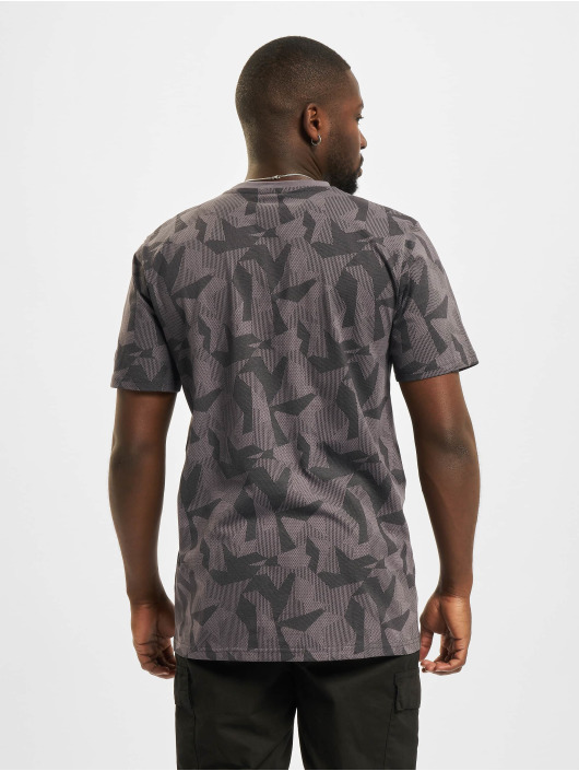 New Era T-Shirt NBA Chicago Bulls Geometric Camo grau