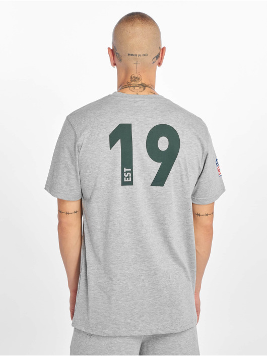 New Era T-Shirt NFL Green Bay Packers Established Number gray