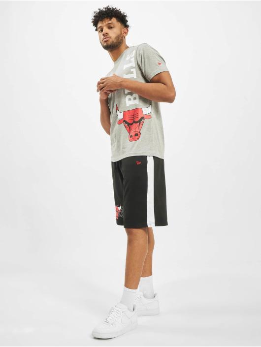 New Era T-Shirt NBA Chicago Bulls Team gray