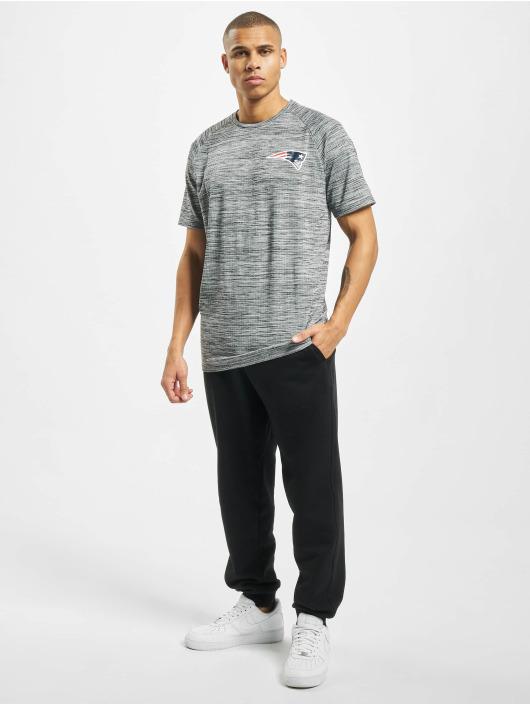 New Era T-Shirt NFL New England Patriots Engineered Raglan gray