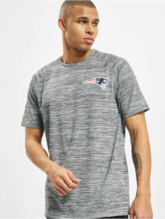New Era T-Shirt NFL New England Patriots Engineered Raglan grey