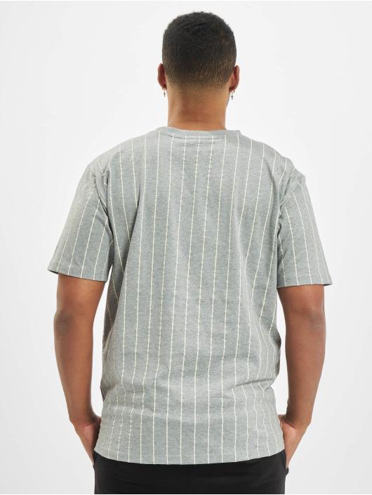 New Era T-Shirt NFL Pinstripe Left Logo New England Patriots grey