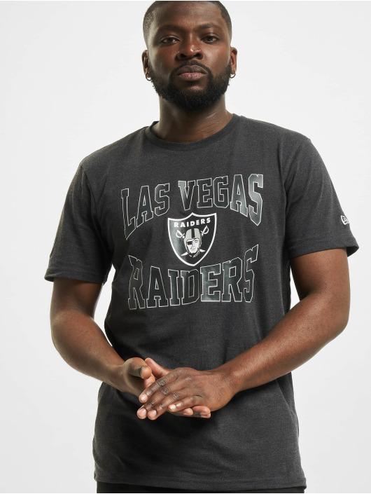 New Era T-Shirt NFL Las Vegas Raiders Team Logo grey