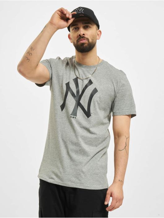 New Era T-Shirt MLB New York Yankees Seasonal Team Logo grey