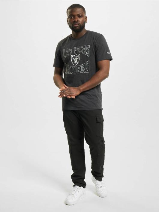 New Era T-Shirt NFL Las Vegas Raiders Team Logo gris
