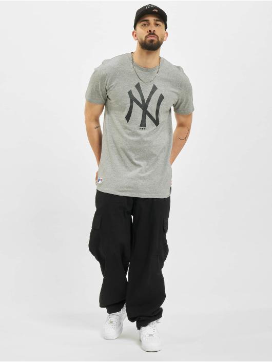 New Era T-Shirt MLB New York Yankees Seasonal Team Logo gris