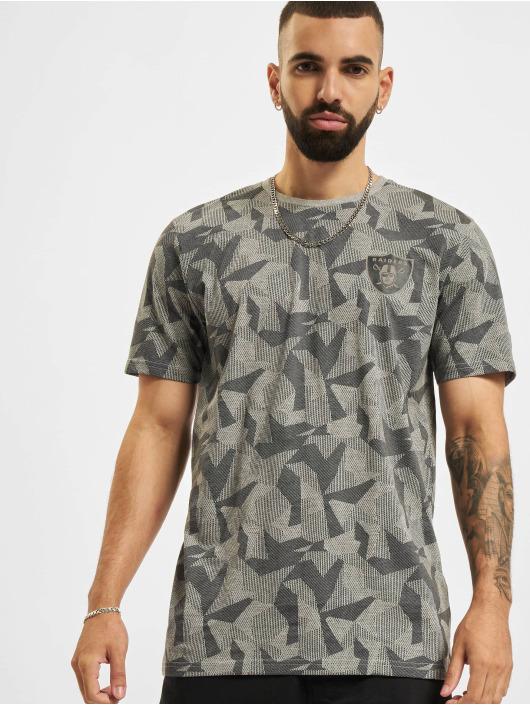 New Era T-Shirt NFL Las Vegas Raiders Geometric Camo gris