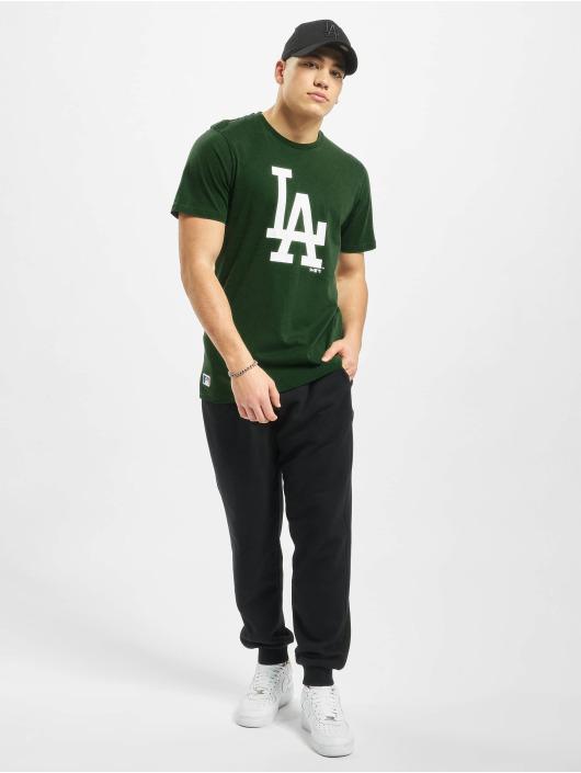 New Era T-Shirt MLB LA Dodgers Seasonal Team Logo grün