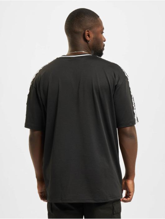 New Era T-shirt NFL Las Vegas Raiders Taping Oversized nero