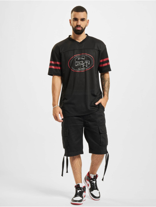 New Era T-shirt NFL San Francisco 49ers Outline Logo Oversized nero