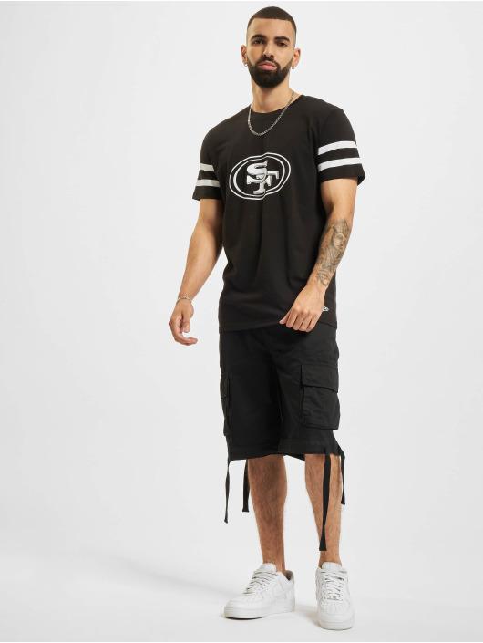 New Era T-shirt NFL San Francisco 49ers Jersey Inspired nero