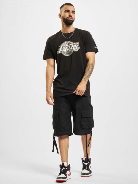 New Era T-shirt NBA Los Angeles Lakers Outdoor Utility Team Logo nero