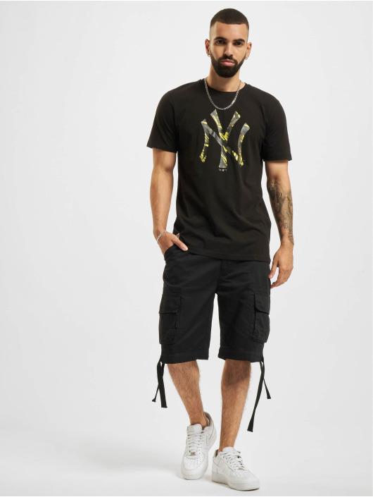 New Era T-shirt MLB New York Yankees Camo Infill nero