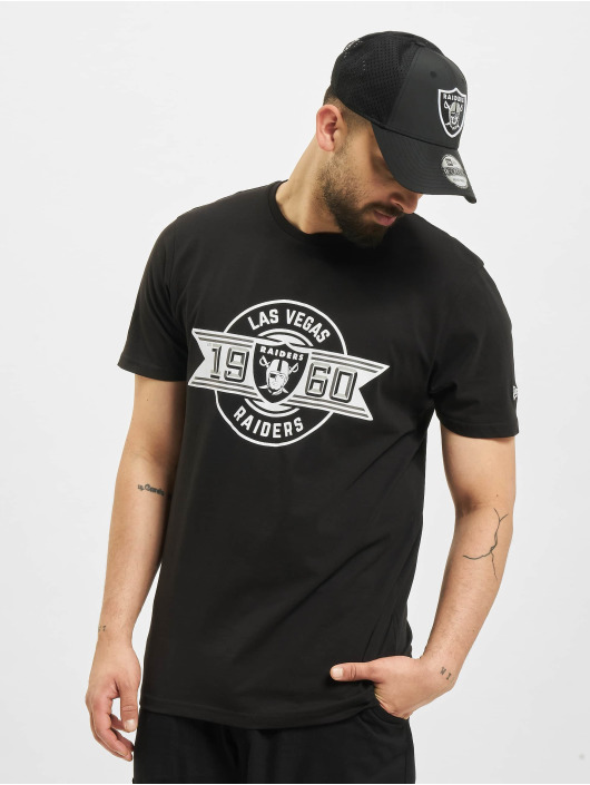 New Era T-Shirt NFL Las Vegas Raiders Team Established noir