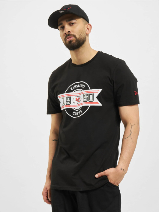 New Era T-Shirt NFL Kansas City Chiefs Team Established noir