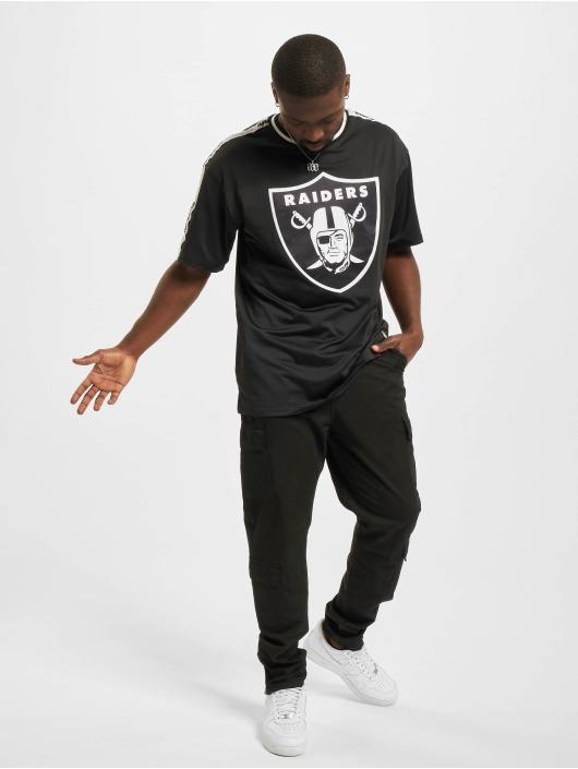 New Era T-Shirt NFL Las Vegas Raiders Taping Oversized noir