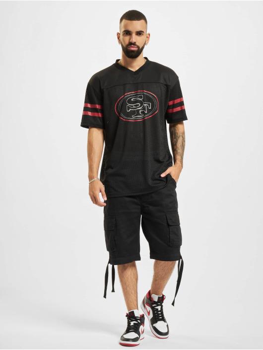New Era T-Shirt NFL San Francisco 49ers Outline Logo Oversized noir