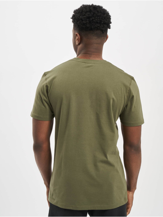 New Era T-shirt Established Heritage oliv