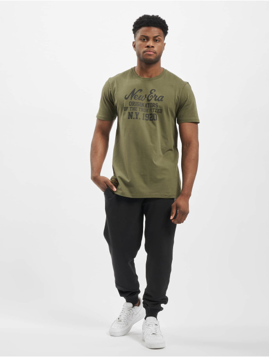 New Era T-Shirt Established Heritage olive