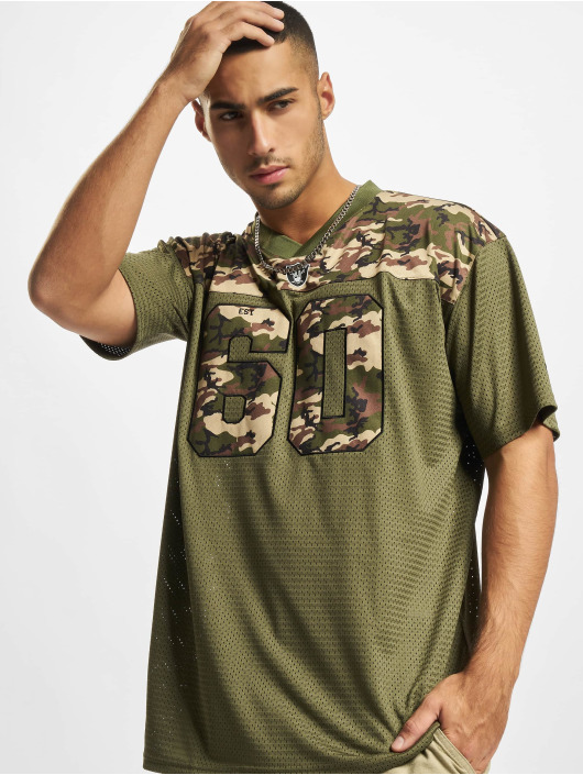 New Era T-Shirt NFL Las Vegas Raiders Camo Infill Oversized Mesh olive