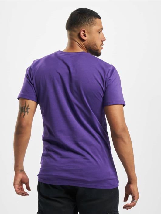 New Era T-Shirt NBA LA Lakers Square Logo purple
