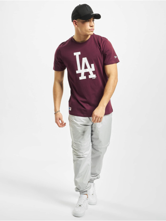 New Era T-Shirt MLB LA Dodgers Seasonal Team Logo red