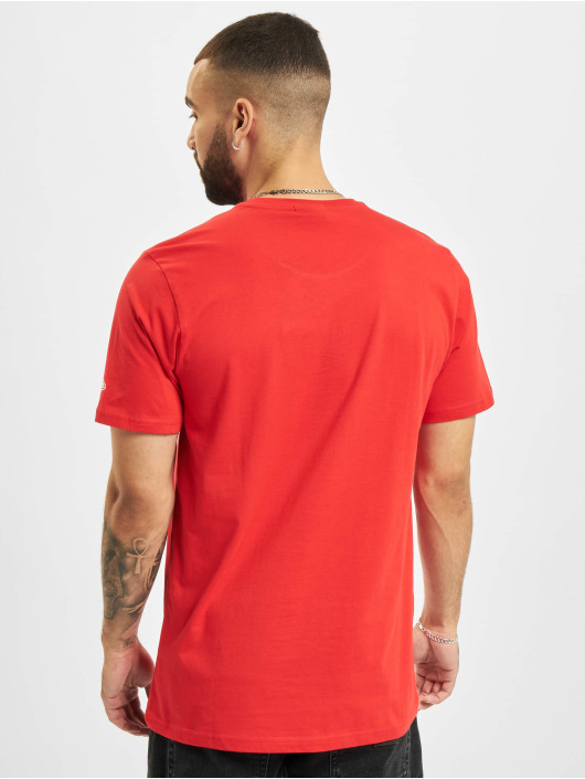 New Era T-shirt NBA Chicago Bulls Photographic röd