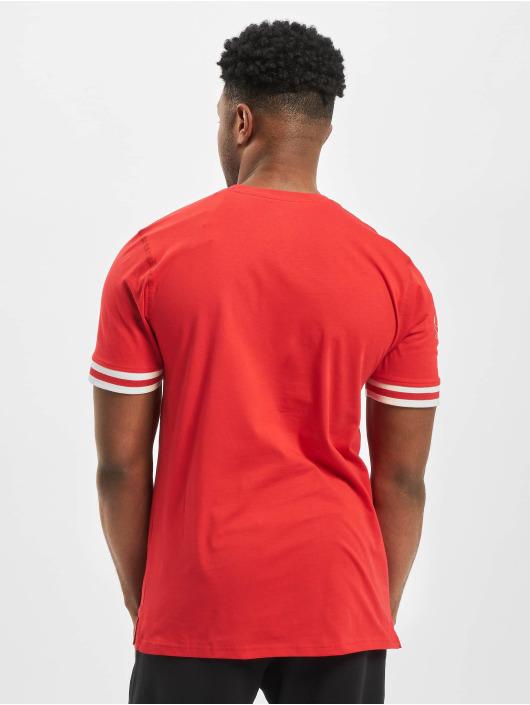 New Era T-shirt NBA Chicago Bulls Wordmark rosso