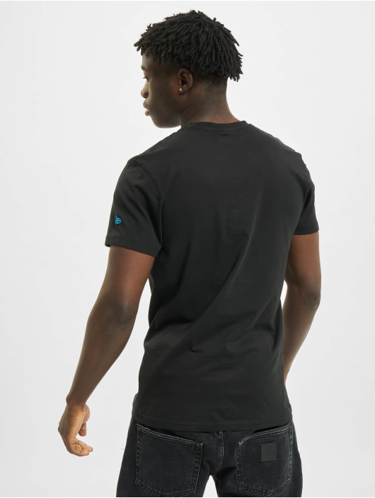 New Era T-Shirt Team Logo Carolina Panthers schwarz