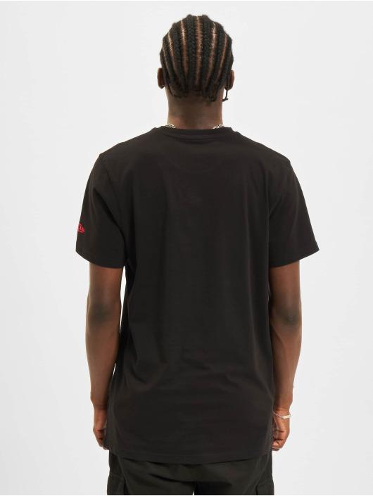 New Era T-Shirt Team Logo Chicago Bulls schwarz