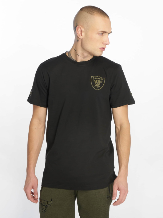 New Era T-Shirt Nfl Camo Collection Oakland Raiders schwarz
