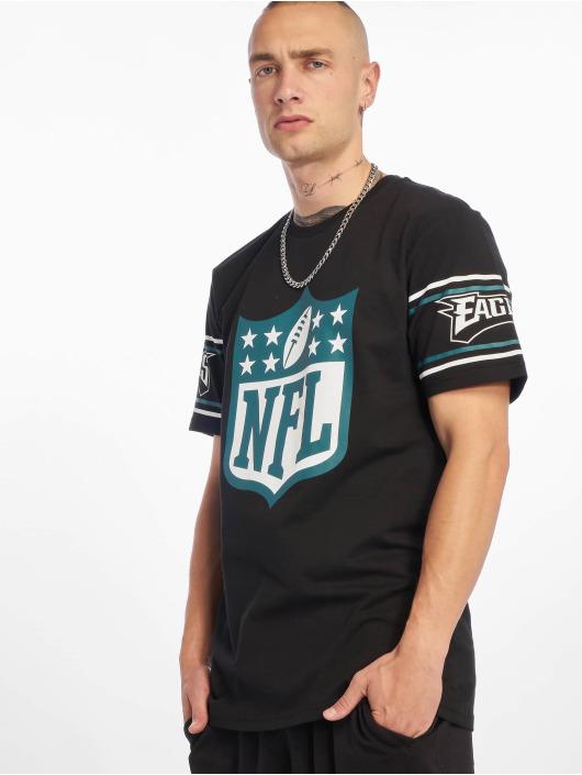 New Era T-Shirt NFL Philadelphia Eagles Badge schwarz