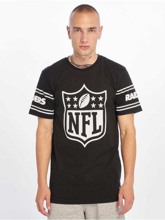 New Era T-Shirt NFL Oakland Raiders Badge schwarz