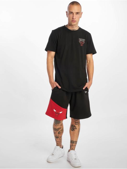 New Era T-Shirt NBA Chicago Bulls Neon Lights schwarz