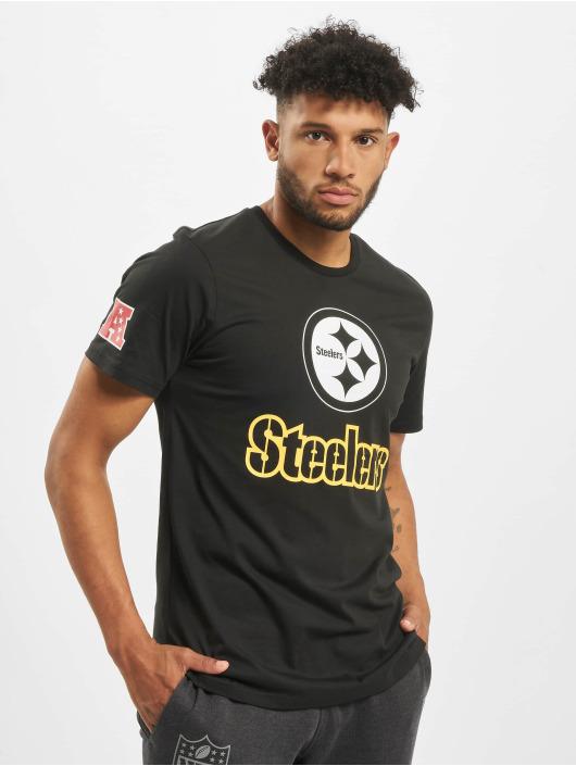 New Era T-Shirt NFL Pittsburgh Steelers Fan schwarz