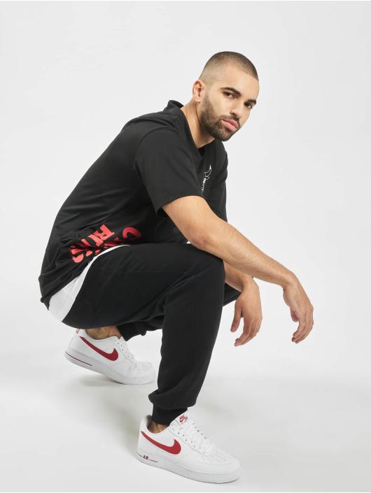 New Era T-Shirt NBA Chicago Bulls schwarz