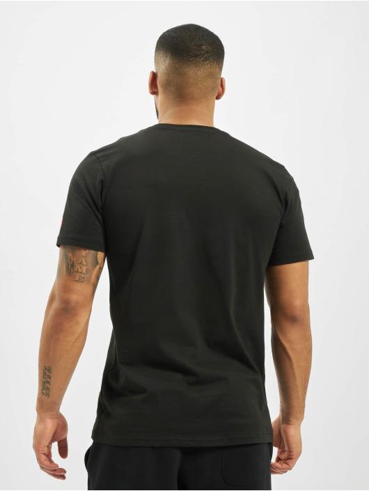 New Era T-Shirt Graphic schwarz