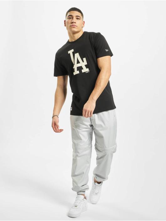 New Era T-Shirt MLB LA Dodgers Seasonal Team Logo schwarz