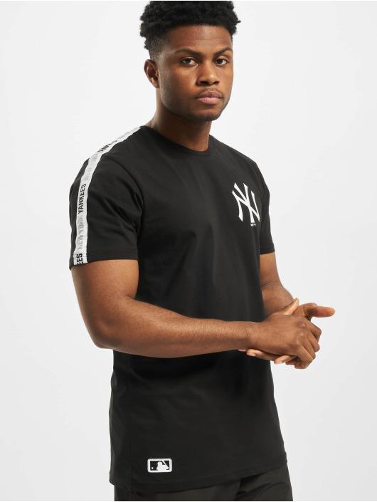 New Era T-Shirt MLB NY Yankees Sleeve Taping schwarz
