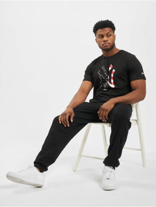 New Era T-Shirt MLB NY Yankees Infill Team Logo schwarz