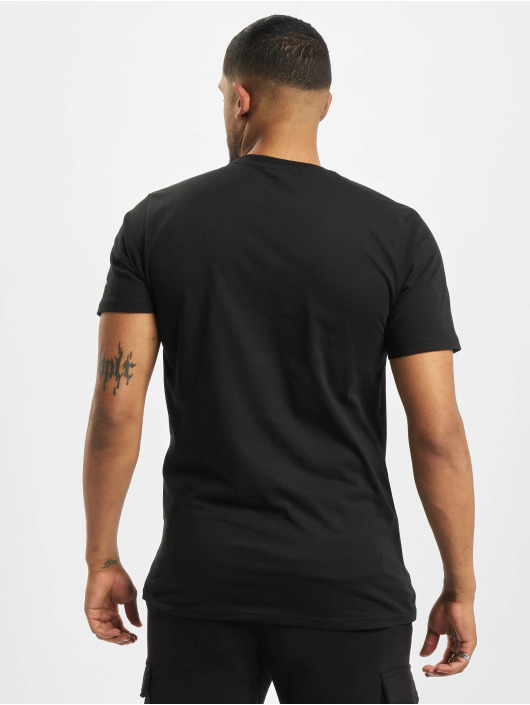 New Era T-Shirt NBA Chicago Bulls Square Logo schwarz