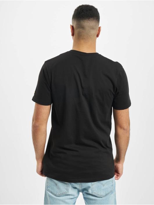 New Era T-Shirt NBA Chain Stitch Los Angeles Lakers schwarz