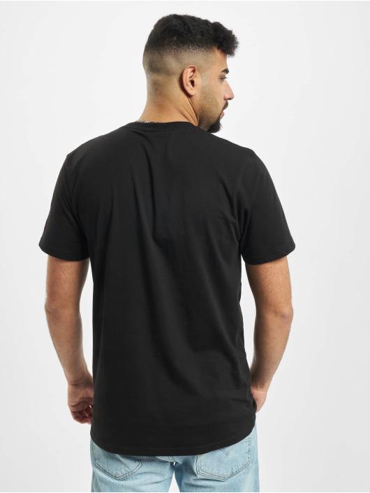 New Era T-Shirt NBA Chain Stitch Chicago Bulls schwarz