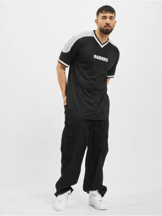 New Era T-Shirt NFL Las Vegas Raiders Contrast Panel Oversized schwarz