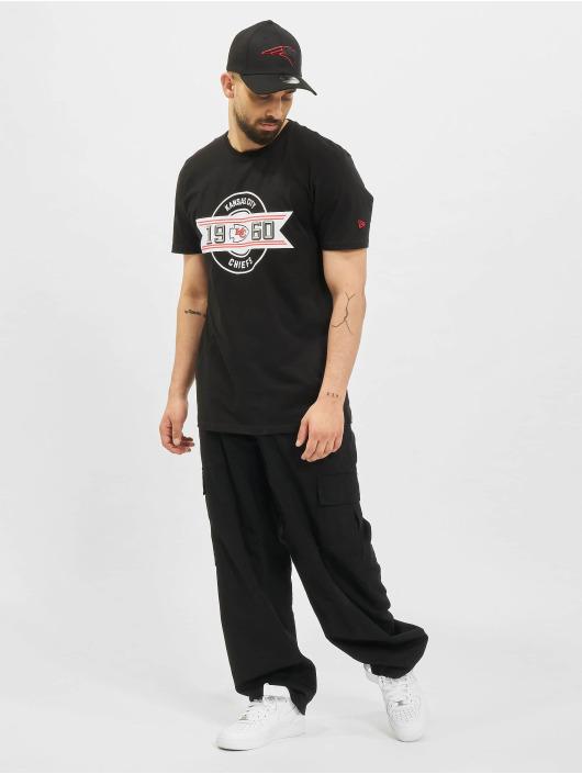 New Era T-Shirt NFL Kansas City Chiefs Team Established schwarz