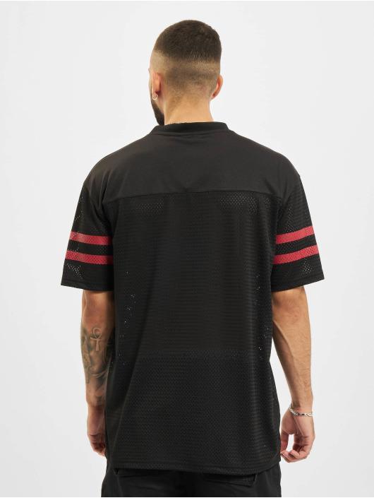 New Era T-Shirt NFL San Francisco 49ers Outline Logo Oversized schwarz